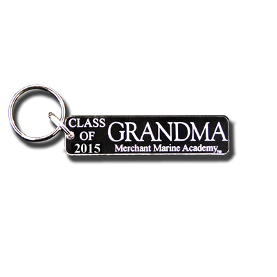 "USMMA ‰ÛÏClass of 2015"" Grandma Key Chain"