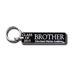 "Merchant Marine Academy ""Class of ..."" Brother Key Chain"