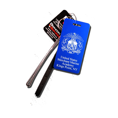 USMMA Seal Small Luggage Tag