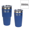 U.S. Merchant Marine Academy Initials Custom Engraved Blue  Insulated Tumbler