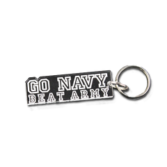 """Go Navy Beat Army"" Key Chain"