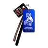 Blue Bill the Goat Large Luggage Tag