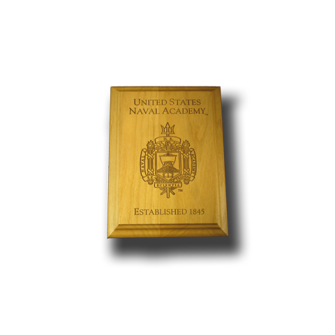 "4""x6"" Wood USCGA Award Wall Plaque"