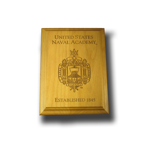 "5""x7"" Wood USCGA Award Wall Plaque"