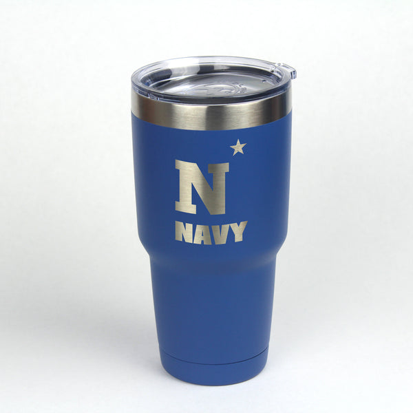 30 oz. Navy N-Star Insulated Tumbler