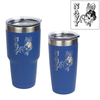 """Bill the Goat/NAVY"" Insulated Tumblers"