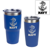 U.S. Naval Academy Anchor Engraved Insulated Tumblers