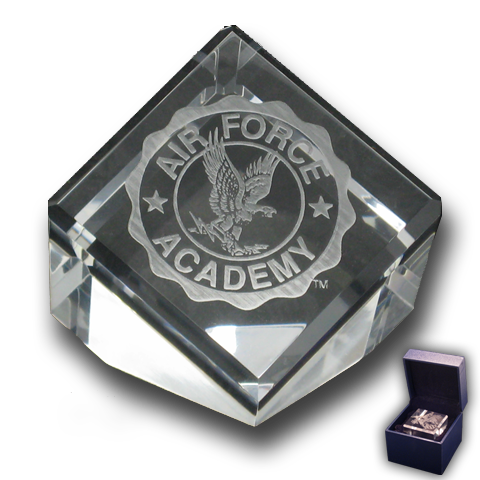 Air Force Academy Crest Paperweight