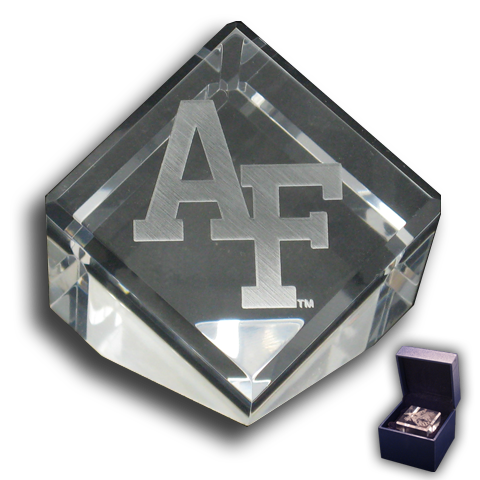"Air Force Academy ""AF"" Logo Paperweight"