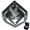 Air Force Academy Flying Falcon logo Paperweight