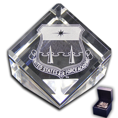 Air Force Academy Shield Paperweight