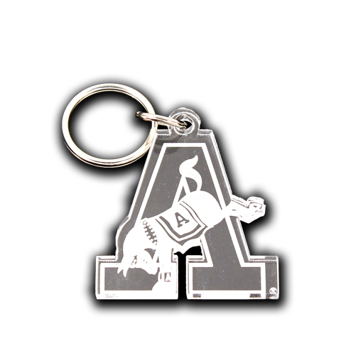 "Army Kicking ""A"" Mule Key Chain"