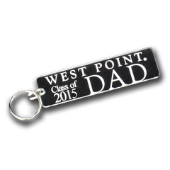 "West Point ""Class of ..."" Dad Key Chain"
