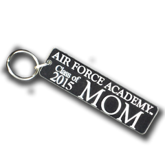 "Air Force Academy ""Class of ..."" Mom Key Chain"