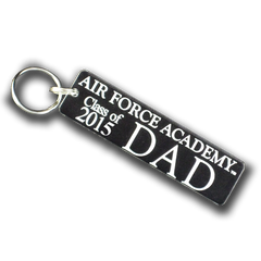 "Air Force Academy ""Class of ..."" Dad Key Chain"