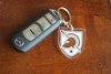 Army West Point Shield Keychain