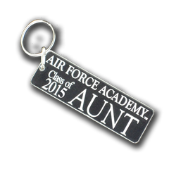 "Air Force Academy ""Class of ..."" Aunt Key Chain"