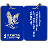 Air Force Academy Parents Club Special Large Luggage Tag