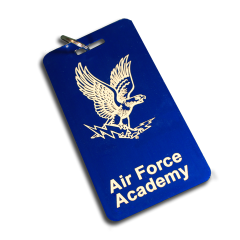 Large Air Force Academy Luggage Tag