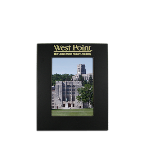 4x6 West Point Black Metal Picture Frame