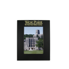 "4""x6"" West Point Black Metal Picture Frame"