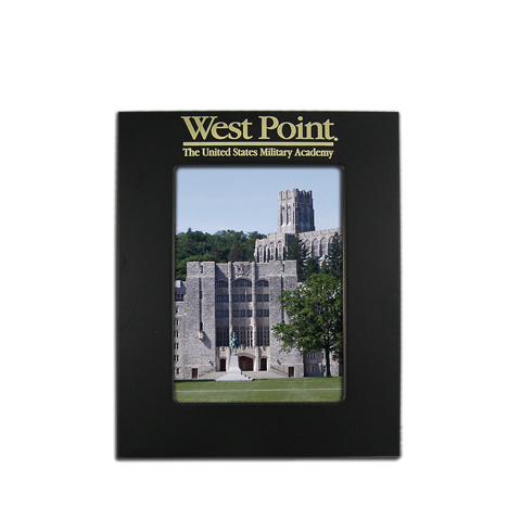 5x7 West Point Black Metal Picture Frame