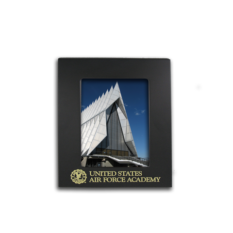 4x6 Air Force Academy Black Metal Picture Frame