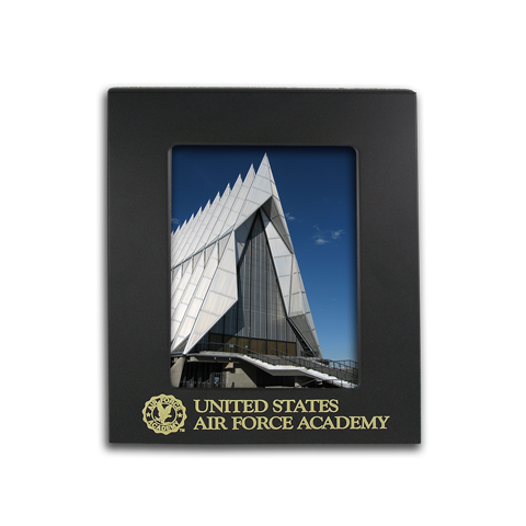 5x7 Air Force Academy Black Metal Picture Frame