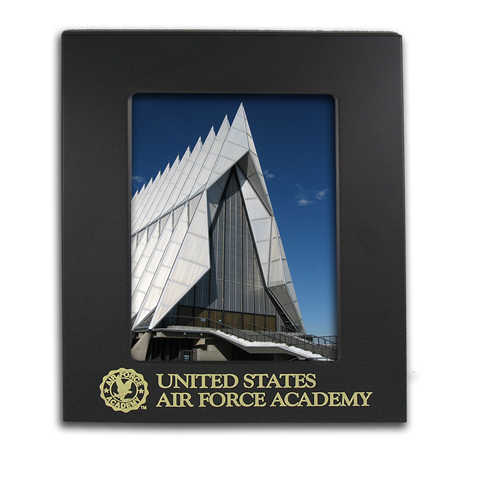 8x10 Air Force Academy Black Metal Picture Frame