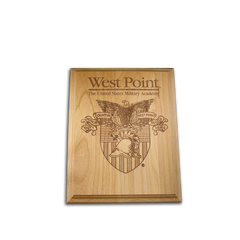 "4""x6"" West Point Alder Award Plaque"