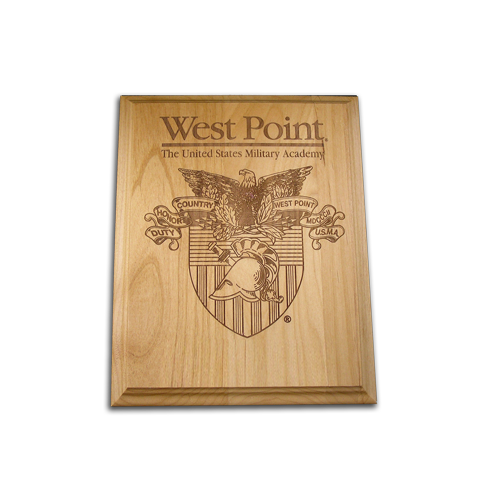 5x7 West Point Alder Award Plaque