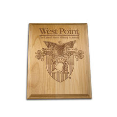 "5""x7"" West Point Alder Award Plaque"