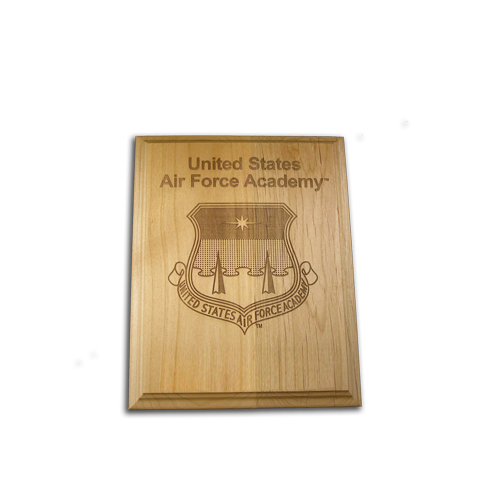 4x6 Air Force Academy Alder Award Plaque