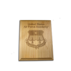 "4""x6"" Air Force Academy Alder Award Plaque"