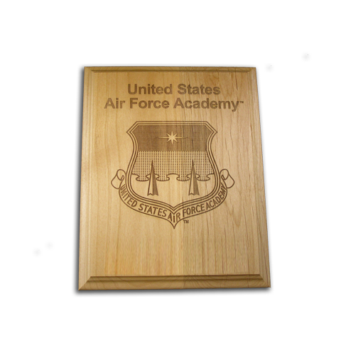 5x7 Air Force Academy Alder Award Plaque
