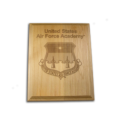 "5""x7"" Air Force Academy Alder Award Plaque"