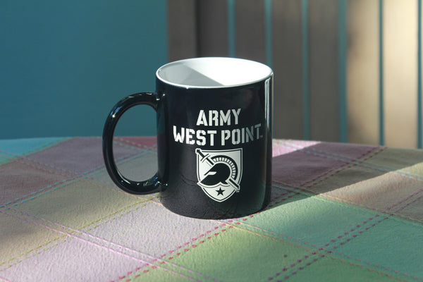 Army West Point Coffee Mug in black & White