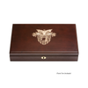 West Point Dual Pistol Display Case - Engraved Top