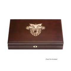 2018 West Point Class Pistol Display Case - Engraved Top