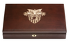 West Point Class of 1975 Class Pistol Display Case