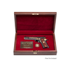 West Point Class Pistol Display Case - Engraved Top