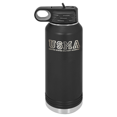 USMA Initials Insulated Water Bottle