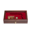 West Point Class of 1981 Glass Top Pistol Case