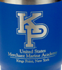 U.S. Merchant Marine Academy KP Custom Engraved Blue  Insulated Tumbler