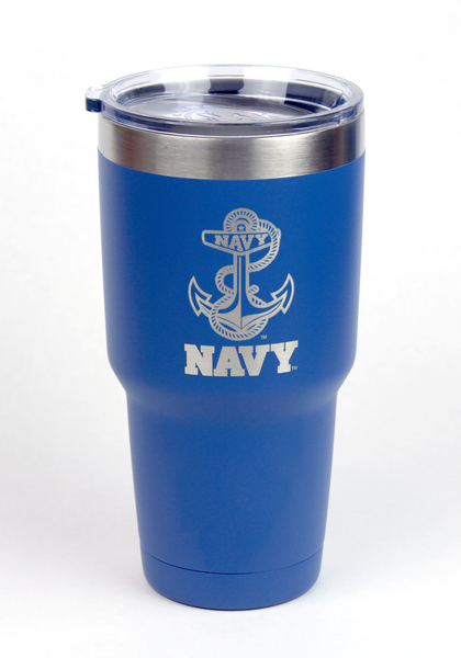 Naval Academy Anchor Logo Insulated Tumblers