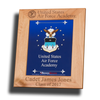 "Licensed 8""x10"" Laser Engraved Air Force Picture Frame"