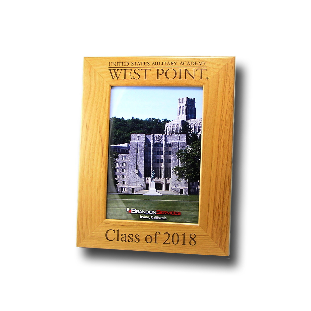 Laser engraved picture frames academy commemoratives west point class of 2018 5x7 picture frame jeuxipadfo Images