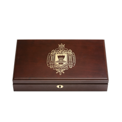Naval Academy Class Pistol Display Case - Engraved Top