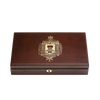Naval Academy Dual Class Pistol Display Case - Engraved Top