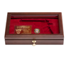 West Point Class of 1993 Class Pistol Display Case - Glass Top